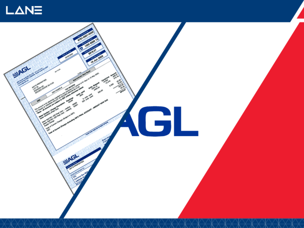 AGL Online Bill Procurement and Presentment System