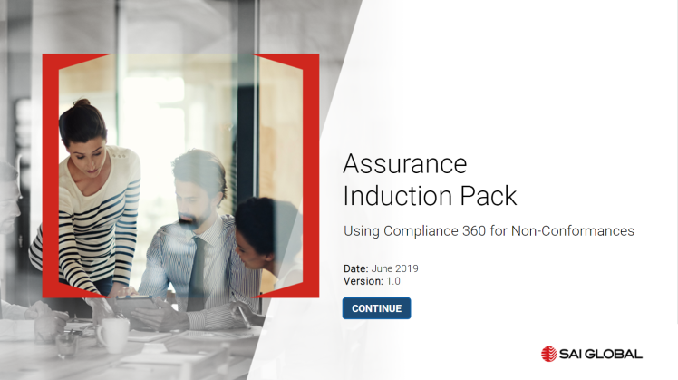 SAI Global Assurance Compliance Modules