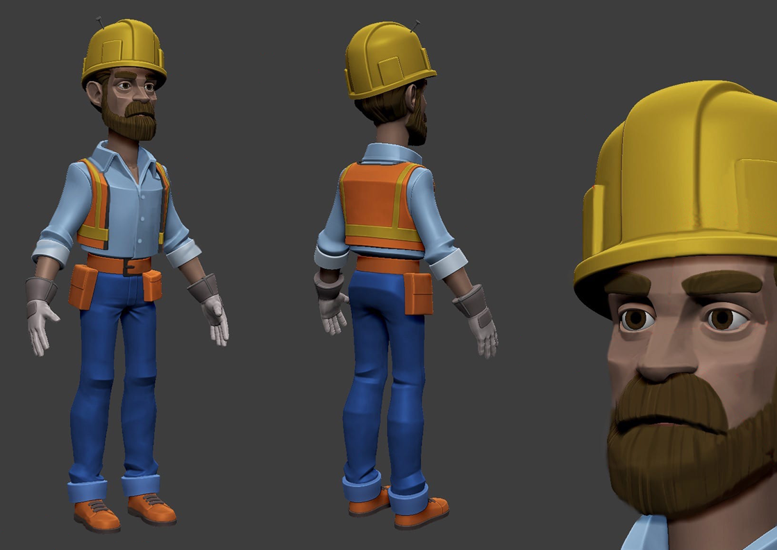 Asciano - Working Safely Character Dev