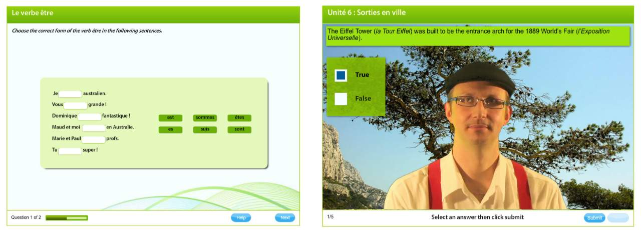 Cengage - Mission: Français - Interactive Whiteboard French App