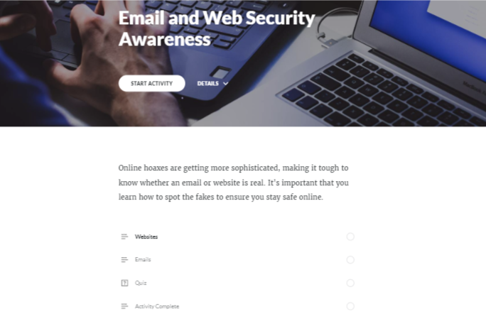 Reece - Email and Web Security Awareness Rise Module